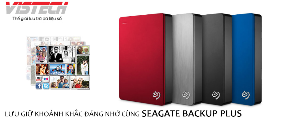 Seagate Backup Plus Slim 2TB Rose Gold